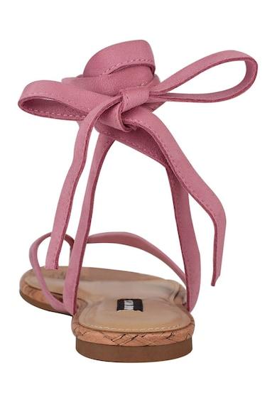 NINE WEST Sandale infasurabile cu bareta separatoare Tiedup Femei