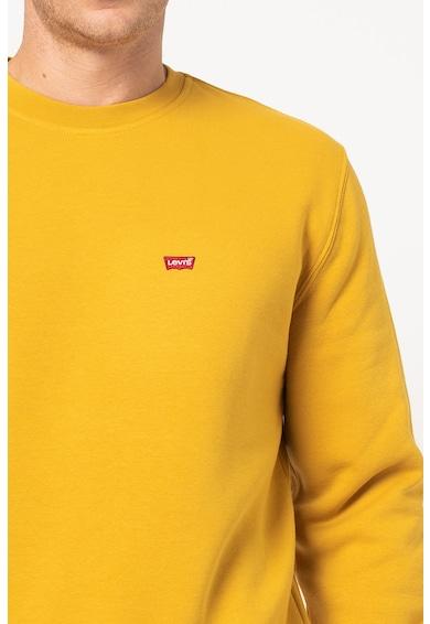 Levi's Bluza sport cu aplicatie logo si decolteu la baza gatului Barbati