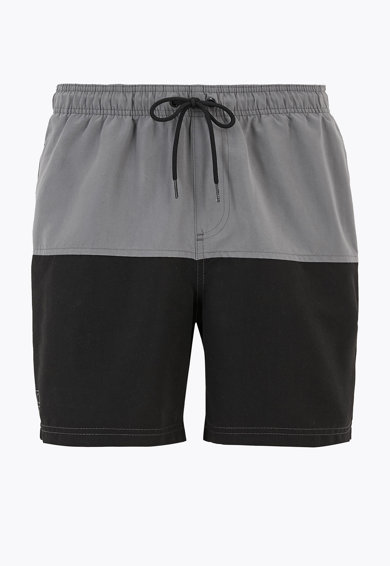 Marks & Spencer Pantaloni scurti de baie cu model colorblock si uscare rapida Barbati
