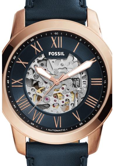 Fossil Grant Automata Karóra Látható Kijelzővel férfi
