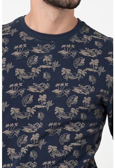 BLEND Bluza sport de bumbac organic cu imprimeu Barbati