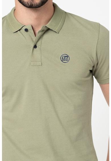 BLEND Tricou polo de bumbac organic cu broderie logo Barbati