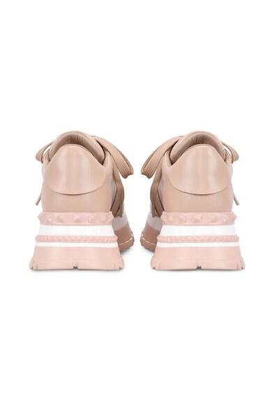 Aéropostale Pantofi sport wedge de piele ecologica Femei