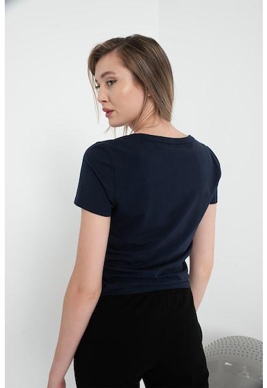 EA7 Tricou slim fit din bumbac Femei