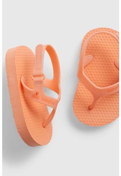 GAP Sandale cu velcro si bareta separatoare Fete
