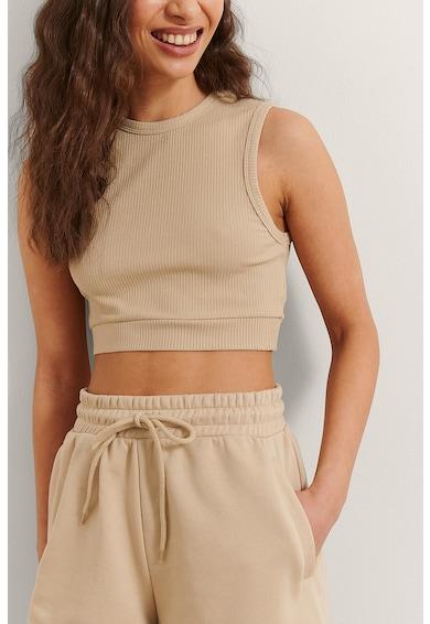 NA-KD Pantaloni scurti din amestec de bumbac organic cu snur de ajustare Femei