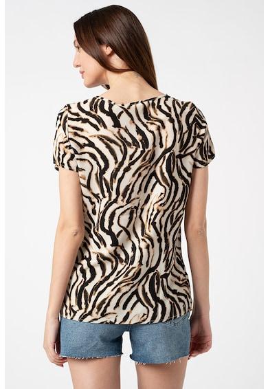 Vero Moda Bluza cu maneci scurte si imprimeu Saga Femei