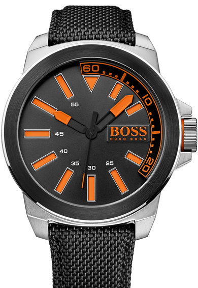 Hugo Boss Orange Ceas negru New York Barbati