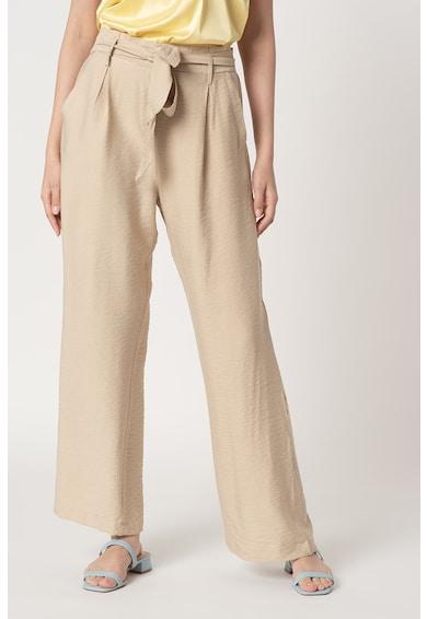 Sisters Point Pantaloni cu croiala ampla si cordon in talie Mena Femei