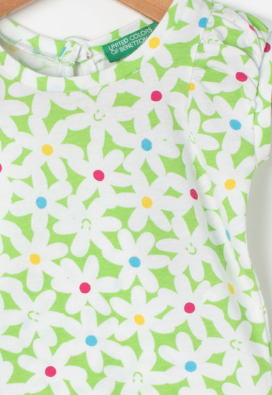 United Colors of Benetton Top cu model floral Fete
