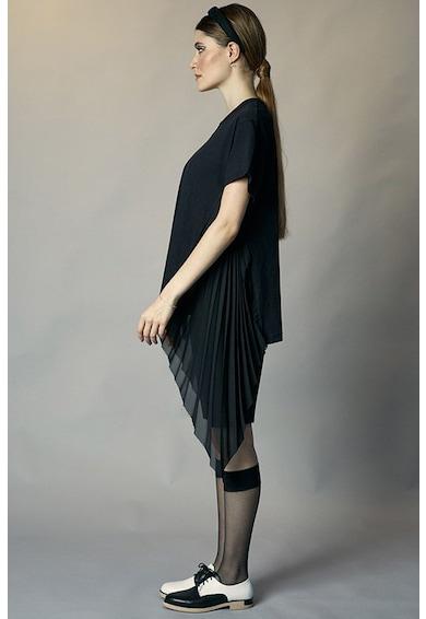 CHAOTIC Tricou asimetric cu detalii plisate Childish Femei