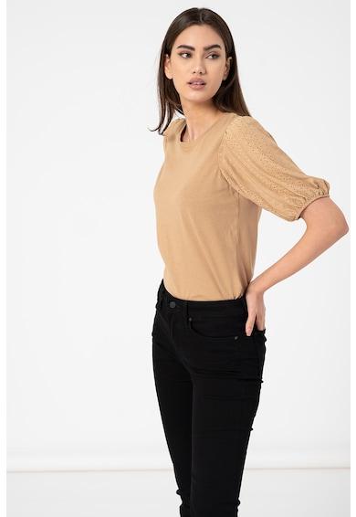 Vero Moda Bluza cu maneci cu perforatii Glenn Femei