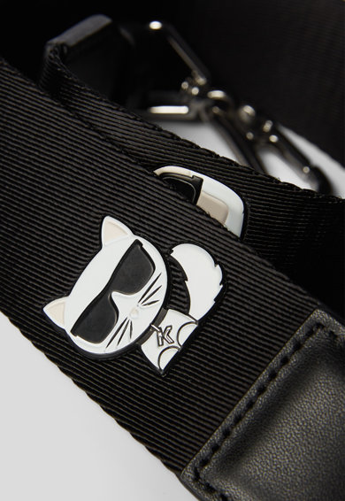 Karl Lagerfeld Bareta de umar cu logo Ikonik Femei