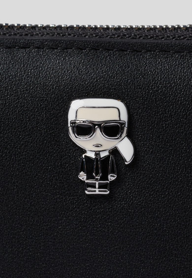 Karl Lagerfeld Portofel de piele cu fermoar Ikonik Femei