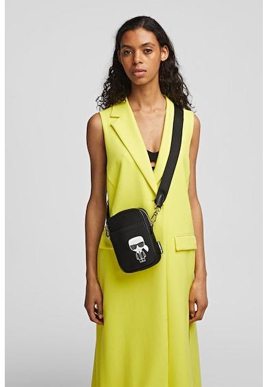 Karl Lagerfeld Geanta crossbody de piele ecologica Ikonik Femei