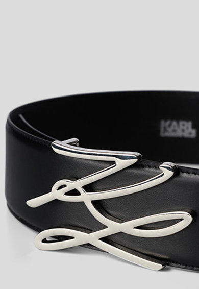 Karl Lagerfeld Curea de piele K/Autograph Femei
