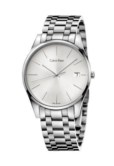 CALVIN KLEIN – watches Ceas argintiu Time Barbati