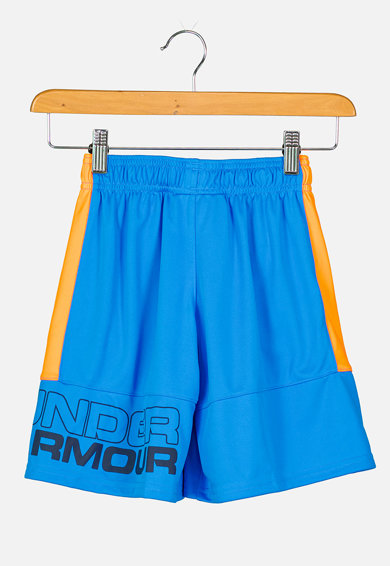 Under Armour Bermude cu imprimeu logo pentru fitness Stunt Baieti