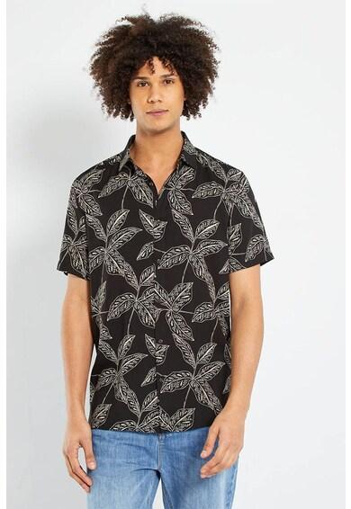 KIABI Camasa regular fit cu imprimeu tropical Barbati