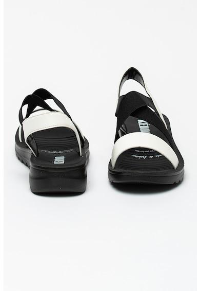 KEDDO Sandale cu garnituri de piele ecologica Femei