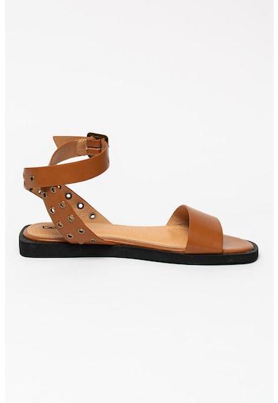 BETSY Sandale de piele ecologica cu anouri metalice Femei
