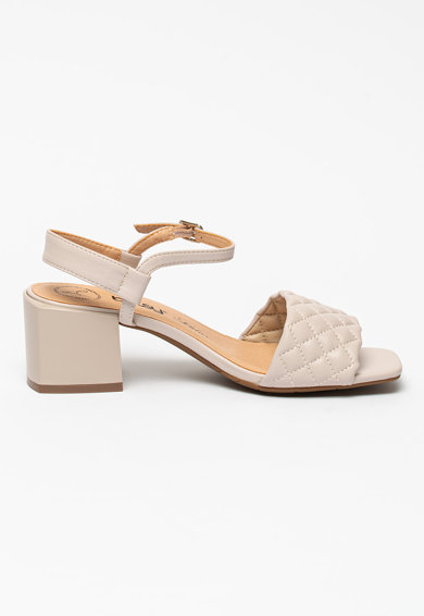 BETSY Sandale de piele ecologica cu detalii matlasate Femei