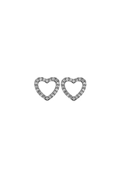 Christina Jewelry&Watches Cercei din argint veritabil in forma de inima Femei