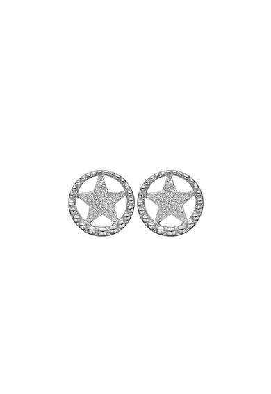 Christina Jewelry&Watches Cercei cu tija, din argint 925 in forma de stea Femei