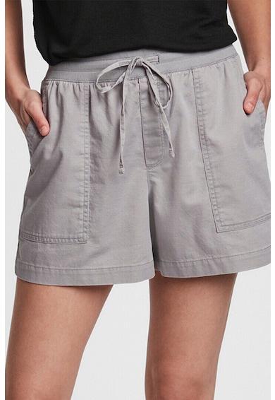 GAP Pantaloni scurti din amestec de in cu talie ajustabila Femei