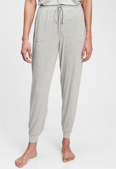 GAP Pantaloni de pijama din amestec de modal cu snur Femei