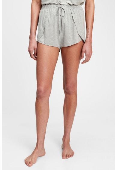 GAP Pantaloni scurti de pijama din amestec de modal cu snur Femei