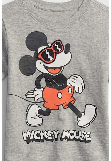 GAP Tricou de bumbac cu imprimeu Mickey Mouse Fete