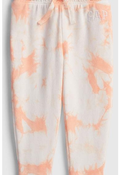 GAP Pantaloni sport cu model tie-dye Fete