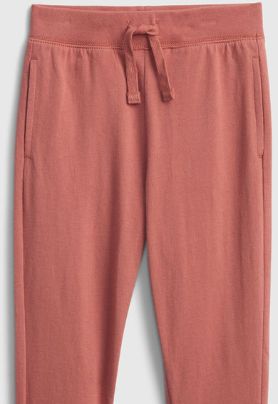 GAP Pantaloni sport de bumbac organic cu buzunare laterale Fete