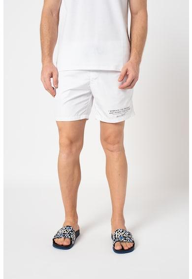 Karl Lagerfeld Pantaloni scurti de baie cu imprimeu logo Barbati