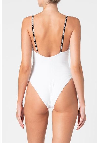 Karl Lagerfeld Costum de baie intreg cu benzi logo Femei