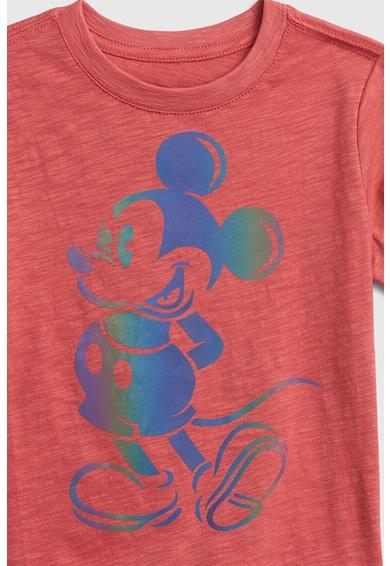 GAP Tricou cu imprimeu Mickey Mouse activat cu ajutorul blitului Baieti