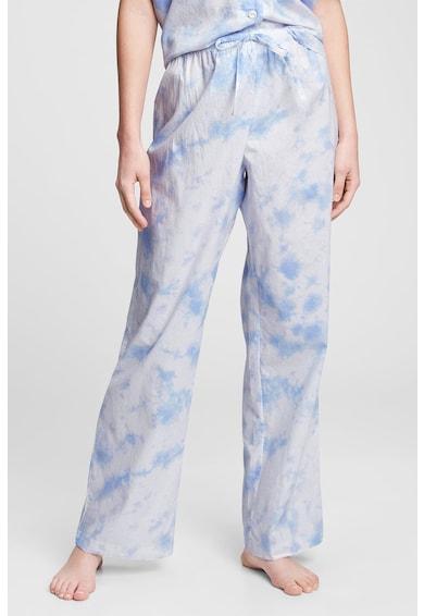 GAP Pantaloni de pijama din bumbac cu snur de ajustare Femei