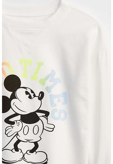 GAP Bluza sport cu imprimeu Mickey Mouse Fete