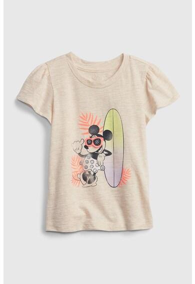 GAP Tricou din jerseu cu imprimeu cu Minnie Mouse Fete