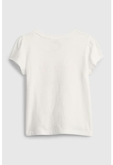 GAP Tricou din bumbac organic cu imprimeu flamingo Fete
