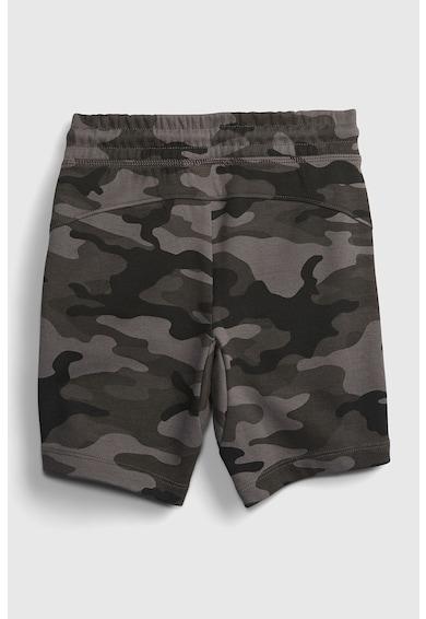 GAP Pantaloni sport scurti cu model camuflaj Baieti