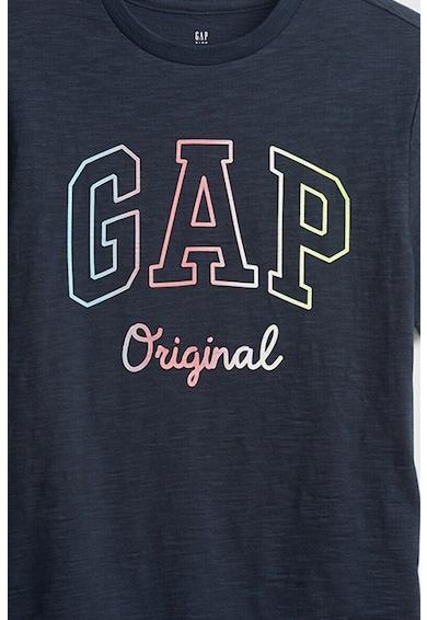 GAP Tricou cu decolteu rotund si imprimeu logo Baieti