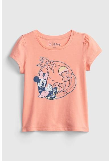 GAP Tricou din bumbac organic cu imprimeu cu Minnie Mouse Fete