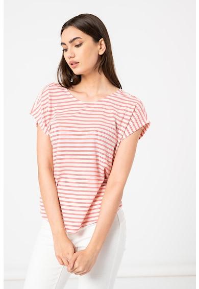 Vero Moda Tricou in dungi cu design incrucisat pe spate Alona Femei