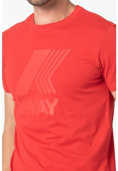 K-Way Tricou unisex cu logo Femei