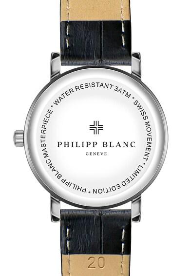 Philipp Blanc Ceas unisex cu o curea de piele Femei