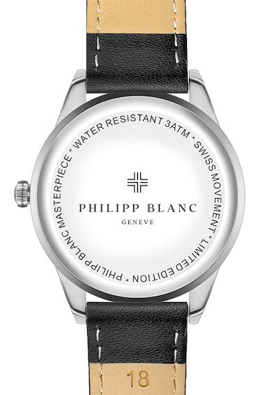 Philipp Blanc Ceas analog rotund cu cadran texturat Femei