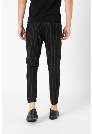 LTB Pantaloni sport cu imprimeu cu dungi discrete Barbati