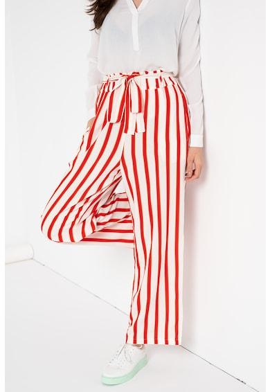 LTB Pantaloni cu croiala ampla si dungi Femei